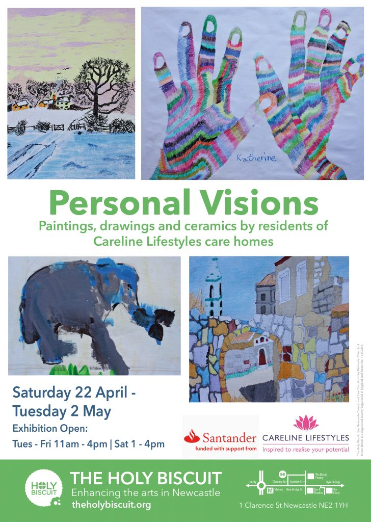Personal Visions Poster Green RGB