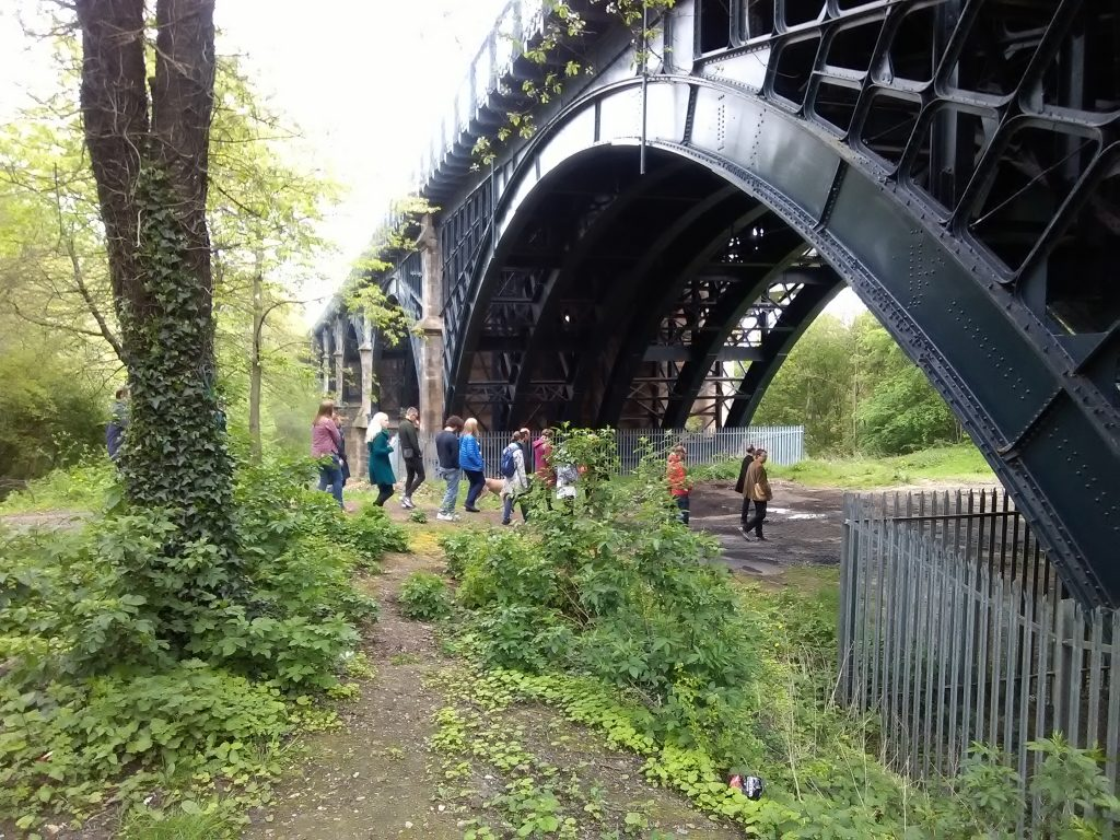 Conjunctions participants process in silence through the Ouseburn