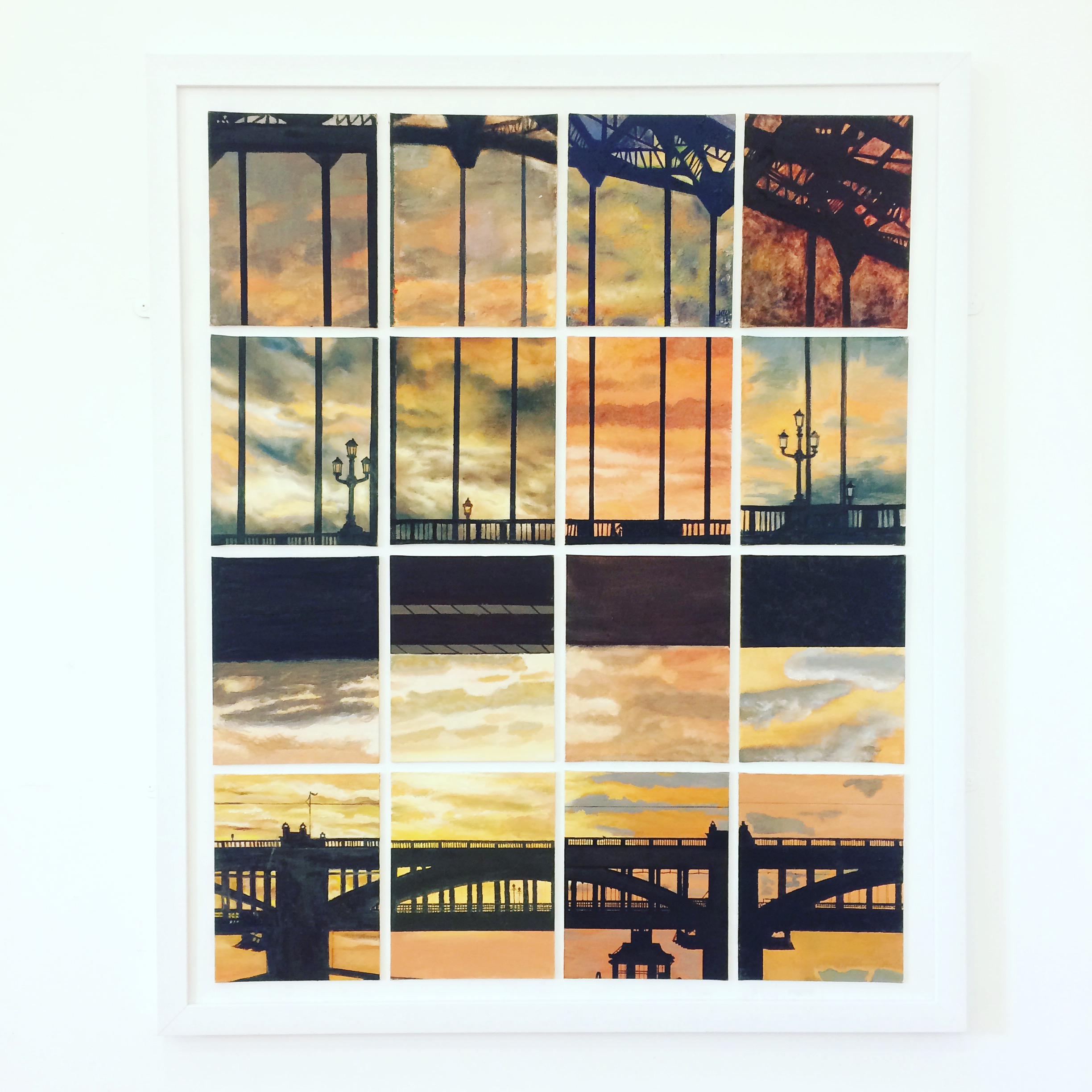 Sunset over the Tyne | Highest bid to date at £200